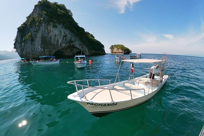 Up to 7 People Private Boat Tour to Quimixto, snorkel at Majahuitas | 5 hours