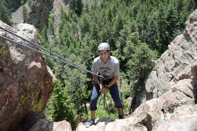 4-Hour Rappelling Lesson in Golden, CO.