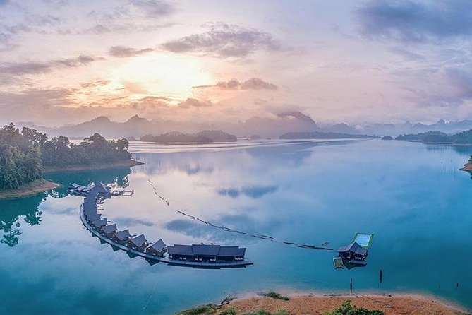 Khao Sok: Full-Day Chiew Larn Lake Tour: from Khao Lak area