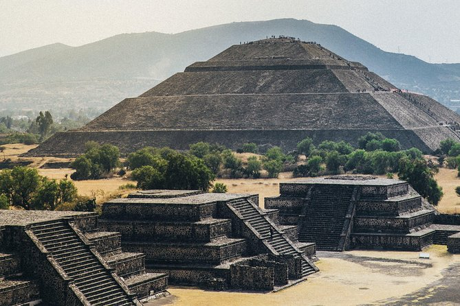 Small Group Teotihuacan Pyramids And Shrine Of Guadalupe With Lunch Marriott