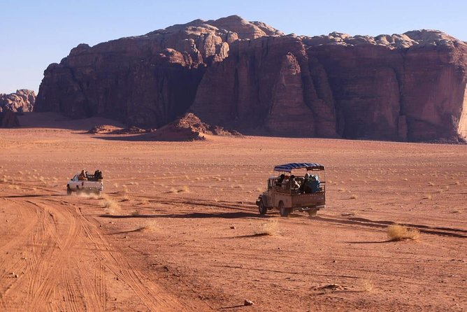 Jordan Horizons Tours: One day to Wadi Rum from Dead Sea