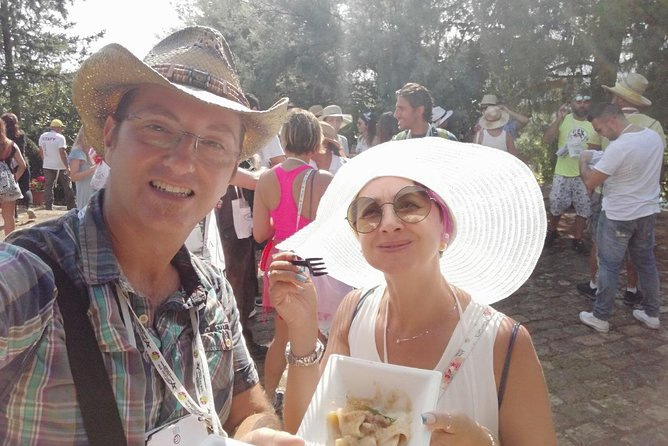 Biking through hill villages, wine and tipical local foods tours
