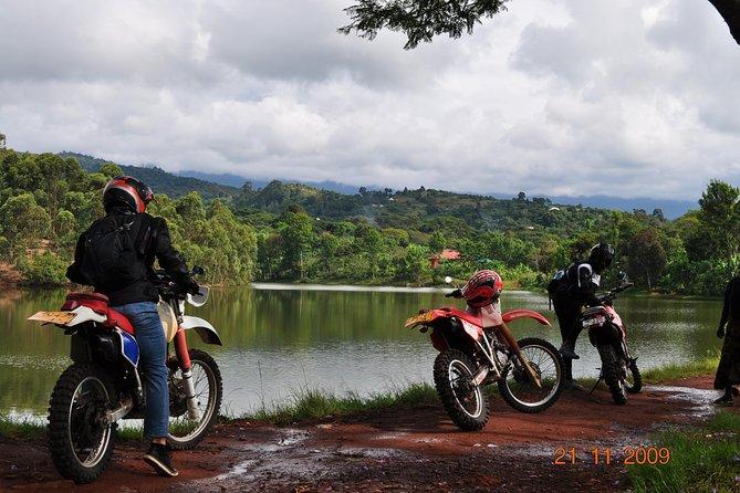 Mountainbike and Motorbike Day Tour at the Slope of Mountain Kilimanjaro