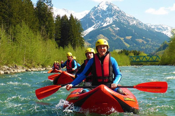 Rafting classic Iller - Level 2 white water tour