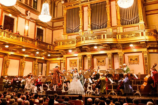 Vienna Mozart Concert At The Musikverein Provided By Vienna Mozart Concerts Vienna Region Tripadvisor