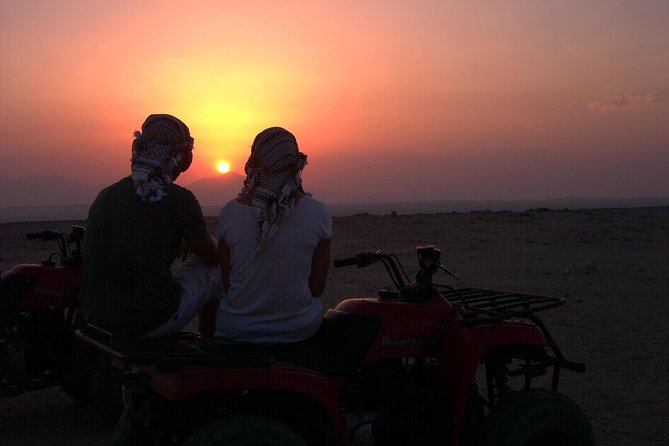 Sunset Desert Safari By Quad Bikes In Luxor