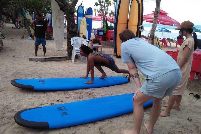 Bali Private Surfing Lesson