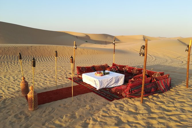 Romantic Dune Dinner At Empty Quarter