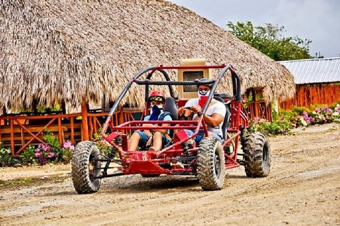 Dune Buggie ride solo with Cave & Beach from Punta Cana (Half Day)