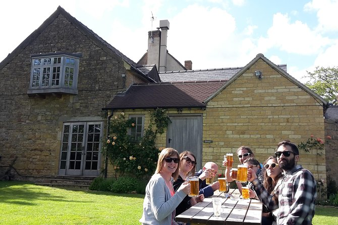 Brewery, Pub Lunch & The Cotswolds Tour from Stratford-upon-Avon