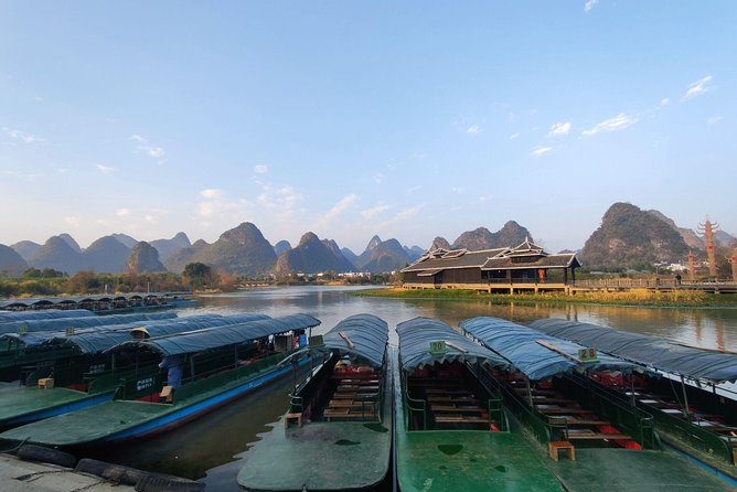Half-Day Yangshuo Xianggong hill Sunrise and Shangri-La Village Private Tour