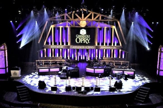 Grand Ole Opry Show Admission Ticket with Shuttle Transportation