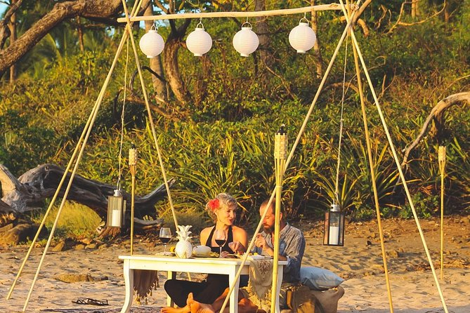 Private Sunset Dinner at the Beach with Chef