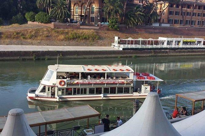 Trastevere Food Tasting with River Boat & Walking Tour