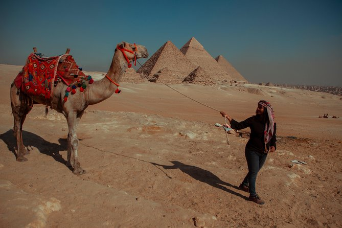 Private Half-Day Tours to Giza Pyramids and Sphinx with Camel Ride