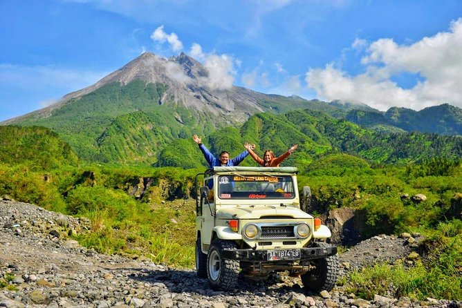Merapi Volcano and Great Temples Tour