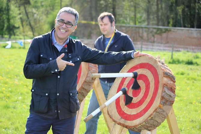 Axe Throwing experience in Salcey Forest, NN7 2HX