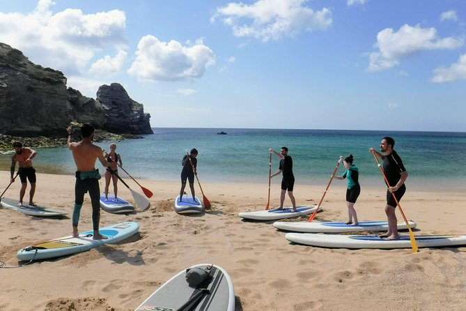 Stand Up Paddleboard Adventure in Algarve with Photos Included