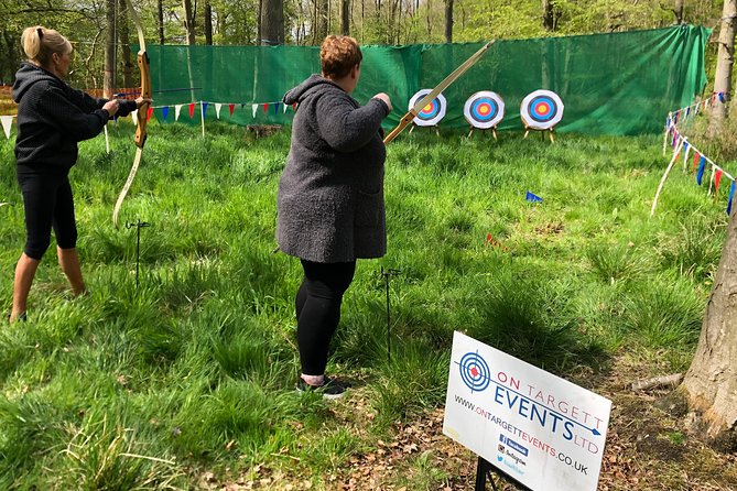 Archery experience in Salcey Forest, NN7 2HX