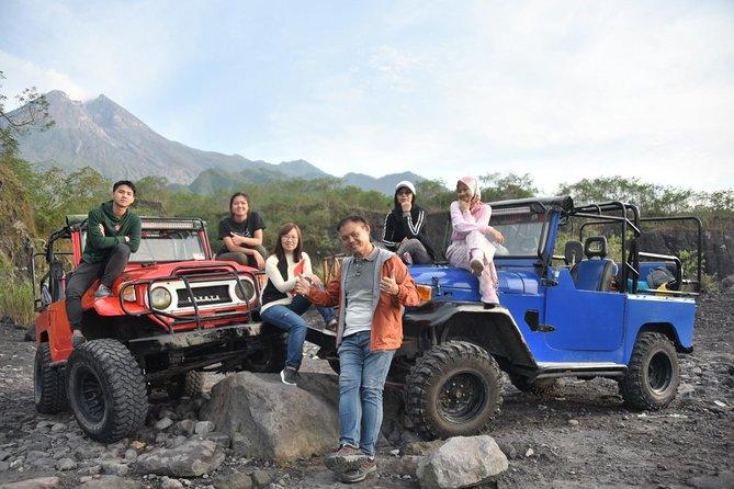 Private Tours: Borobudur Sunrise, Merapi Volcano & Prambanan Temple