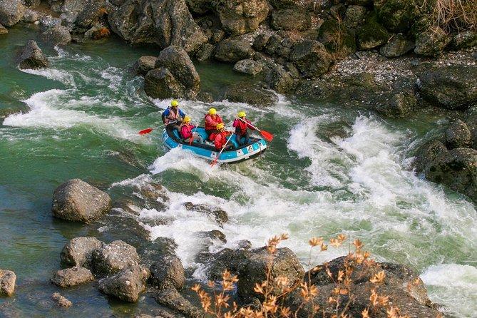 Rafting in Aliakmonas, close to Meteora