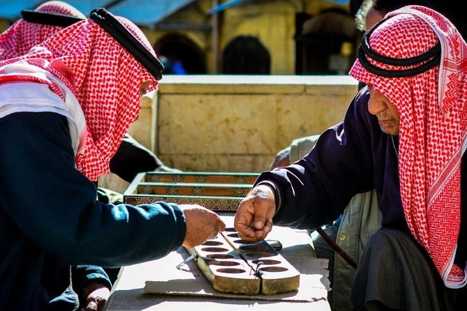 "Learn How to Play the Traditional Jordanian Game "" Mangalih"" in Salt"