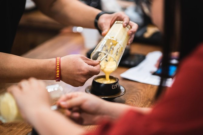 Unique Egg Coffee class with Local