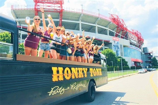 Nashville's Roofless Party Bus Experience