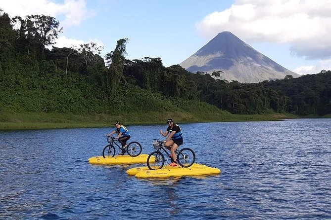 Water Bike Tours = Sustainable Mobility Bike tours over water.
