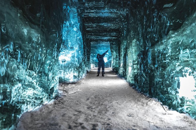 Ice Cave & Snowmobile Tour from Gullfoss