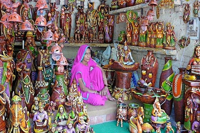 Delhi Private Full Day Shopping Tour