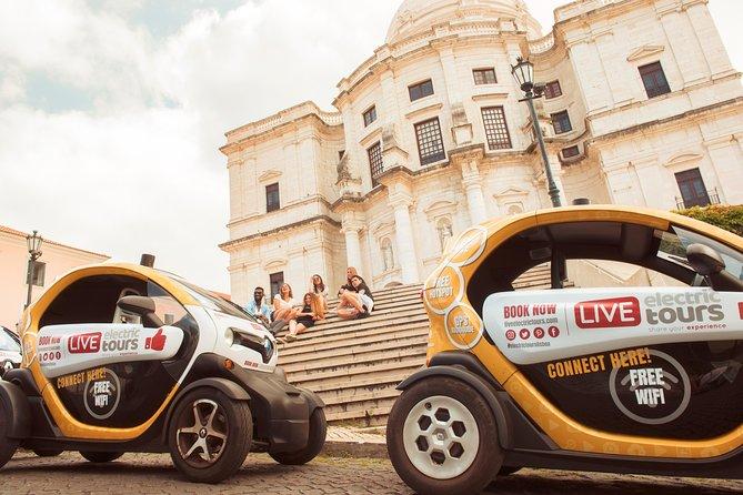 Lisbon Complete: Self-Drive Private City Tour in E-Cars