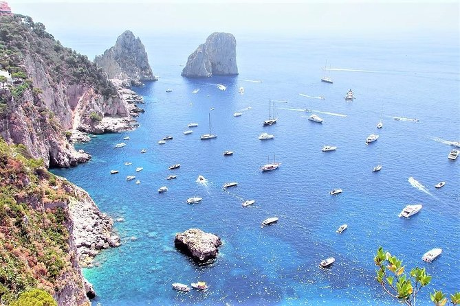 Blue Grotto & Capri Full Day Tour with a Native Guide