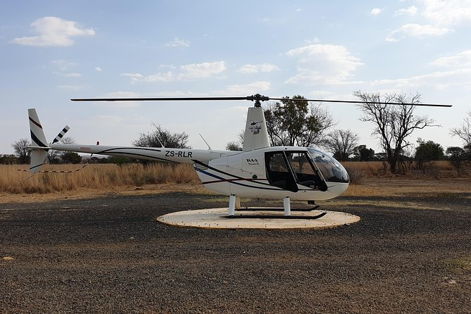 Sunset Helicopter Safari