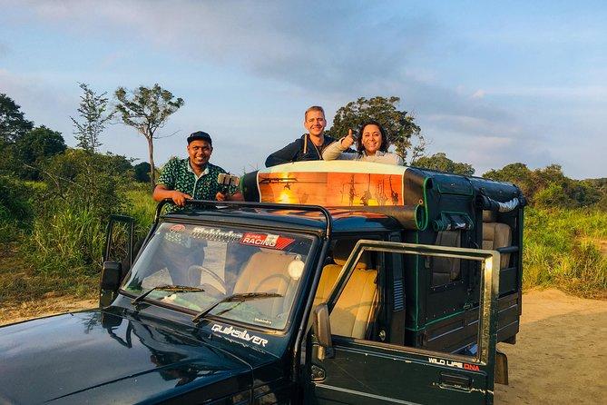 Minneriya / Kaudulla Or Hurulu eco park half day Jeep Safari