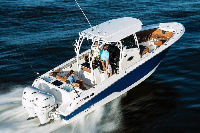 Private New Powerboat Including Margaritaville. Full & Half Day to USVI and BVI