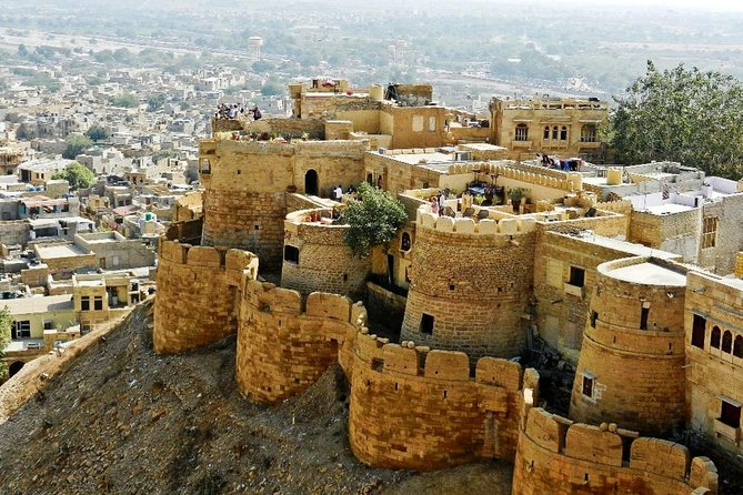Private: Jaisalmer day Sightseeing tour with Heritage Haveli and Fort