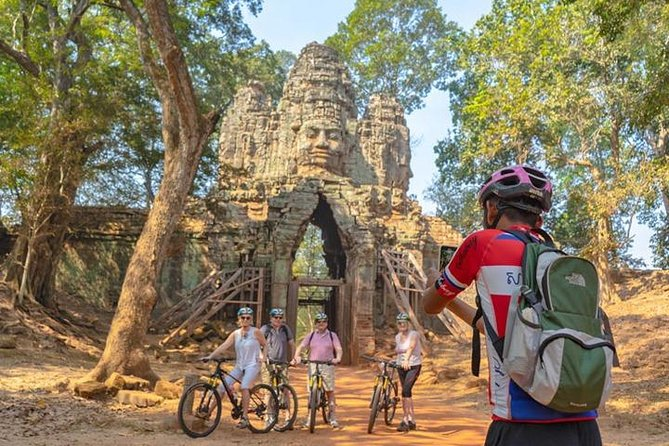 Angkor Sunrise Discovery Bike Tour Included Breakfast & Lunch