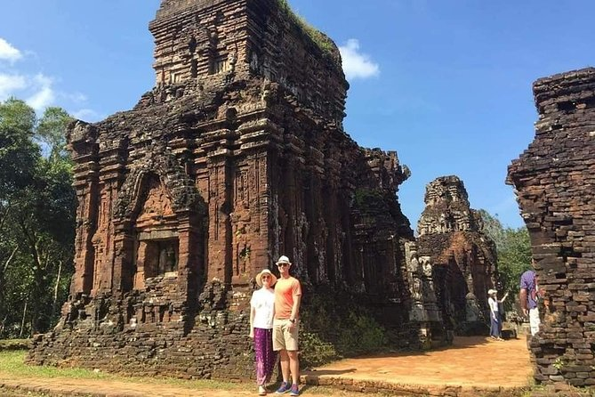 My Son Holyland Tour, Basket Boat Ride to Coconut Jungle & Hoi An Walking Tour