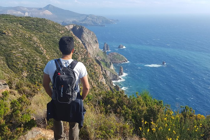 Panoramic hike-walk and drink by the sea