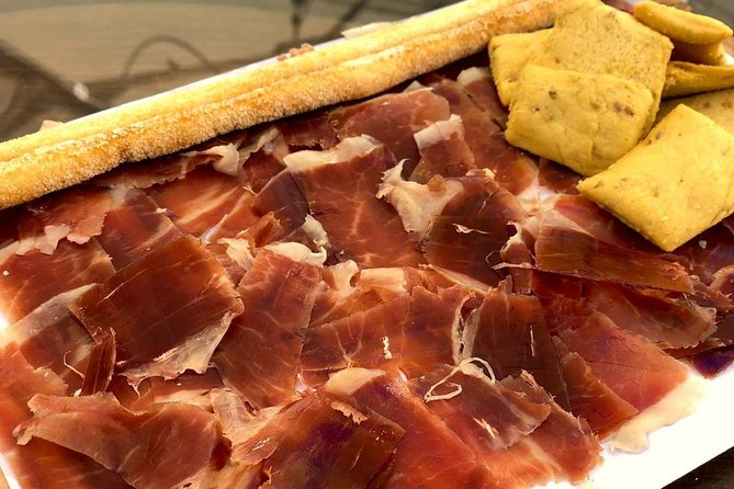 Iberian tasting and ham cutting