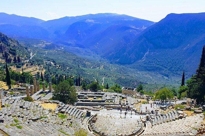 Full day Delphi private tour