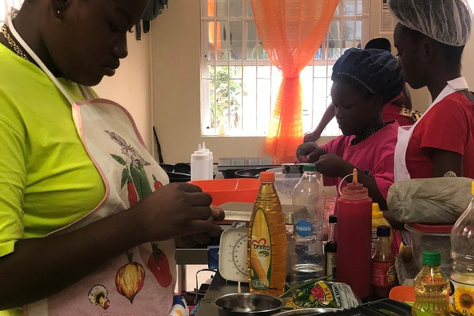 Visitors Pudding and Souse Cooking Class