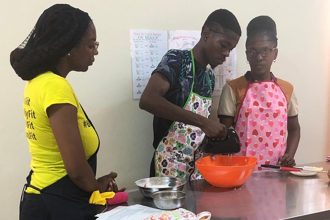 Visitors' Bajan Macaroni Pie and Flying Fish Cooking Class