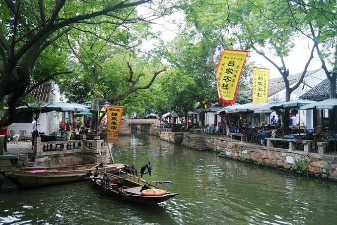 Suzhou Private Tour with Tongli Town Boat Tour, Paper-cutting & Vegetarian Lunch
