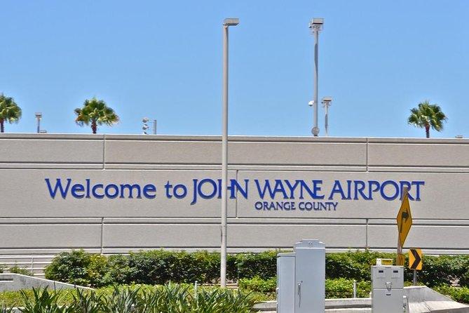 John Wayne Airport (SNA) Private Transfer To San Diego.