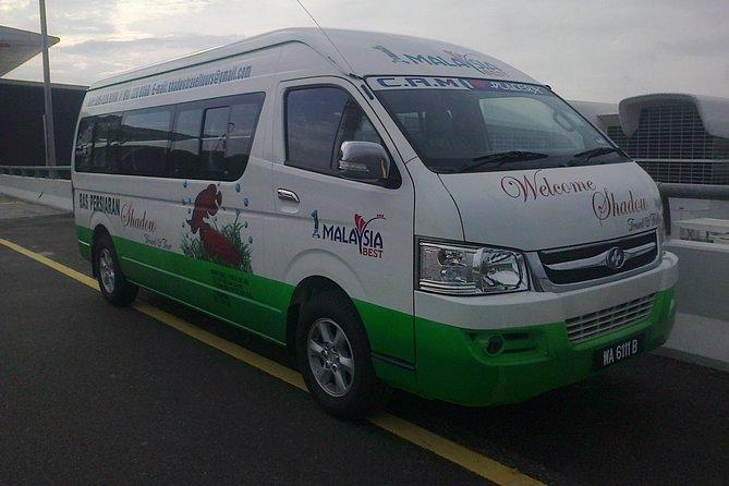 Melaka City to KL Hotels/KLIA/KLIA2/Sultan Abdul Aziz Shah Airport