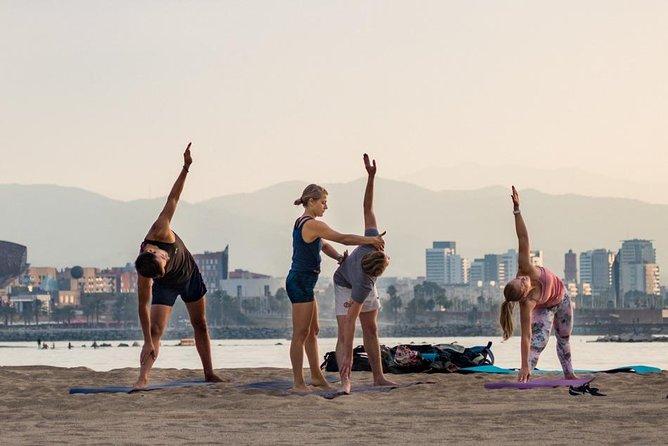 Beach Yoga Emotion Cascais