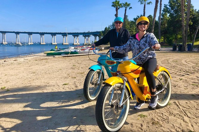 Fat Woody Beach Cruiser Experience - Coronado's Musical Electric Bicycle Tour