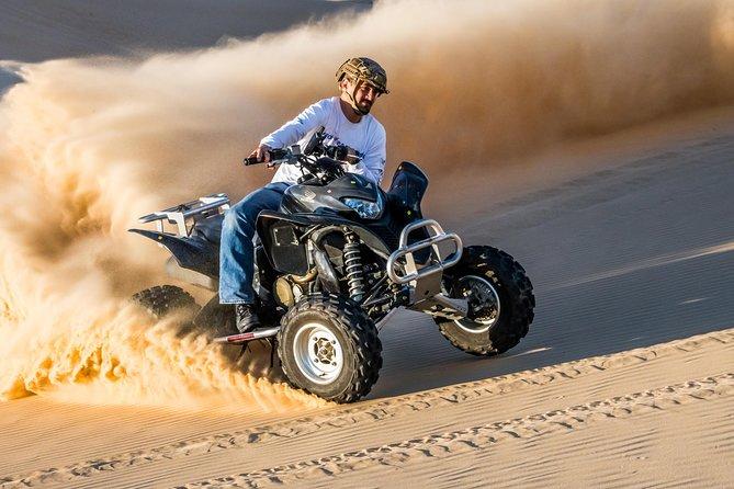 Dubai Evening Desert Safari with ATV Quad Bike & Dinner